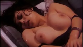 Hot sweaty Chinese girl handcuffed and forced to fuck
