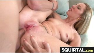 massive squirting and creampie female ejaculation