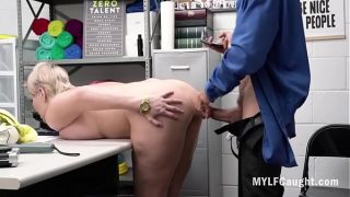 MILF Does Anal With Cop To Save Her Ass- The Irony! Ryan Keely