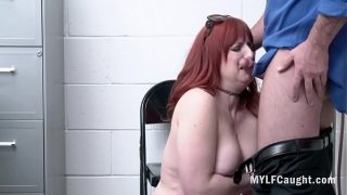 Redhead MILF Whore Caught Stealing And Fucked- Amber Dawn
