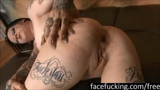 Rough ass to mouth gaping and enema for Mallory Maneater
