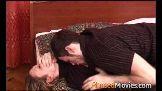 Sexy Brunette Getting Her Snatch Violated And Forced To Fuck