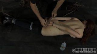 Worshipping master's feet